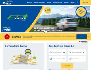prins.com.tr screenshot