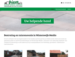 prinsenbestratingen.nl screenshot