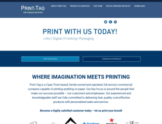 print-tag.co.za screenshot