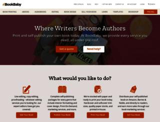 print.bookbaby.com screenshot