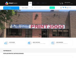 print3000.com screenshot