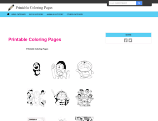 printable-coloring-pages.info screenshot