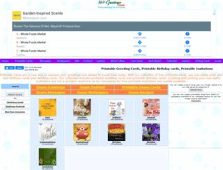 printable.365greetings.com screenshot