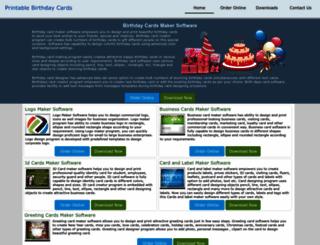 printablebirthdaycards.biz screenshot