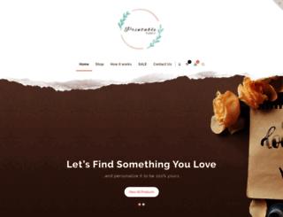 printablefabric.com.au screenshot