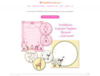 printablepartykits.com screenshot