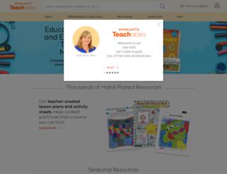 printables.scholastic.com screenshot