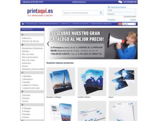 printaqui.es screenshot