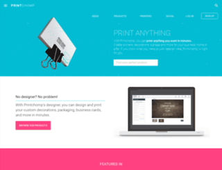 printchomp.com screenshot
