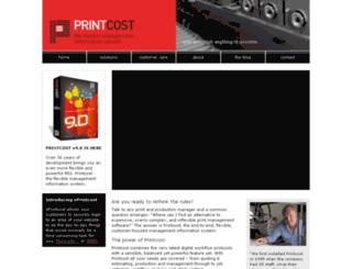 printcost.com screenshot