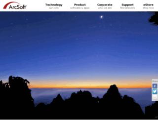 printcreations.arcsoft.com screenshot