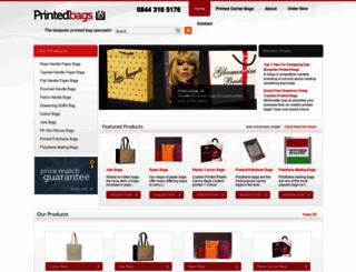 printedbagsuk.co.uk screenshot