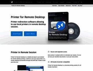 printer-for-remote-desktop.com screenshot