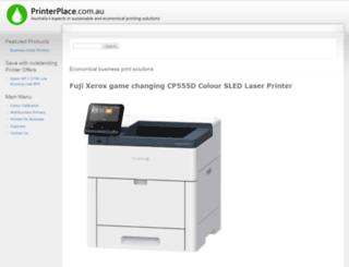 printerplace.com.au screenshot