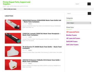 printerrepairsupport.com screenshot