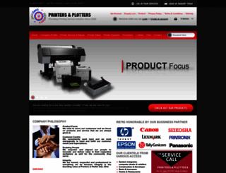 printers-plotters.com.my screenshot