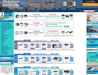 printershowcase.com screenshot