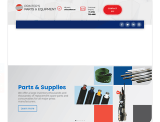 printersparts.com screenshot
