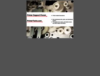 printertechsforum.com screenshot