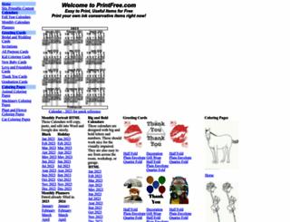 printfree.com screenshot