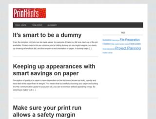 printhints.com screenshot