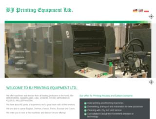 printin-equipments.net screenshot