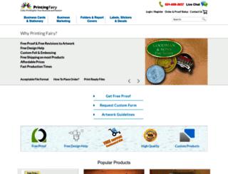 printingfairy.com screenshot