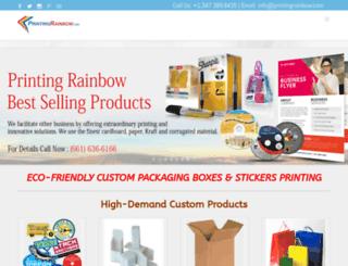 printingrainbow.com screenshot