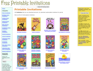 printinvitations.net screenshot