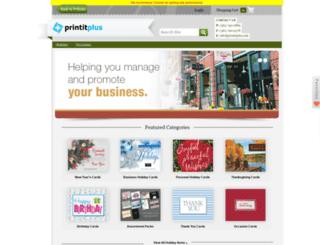printitplus.holidaycardwebsite.com screenshot