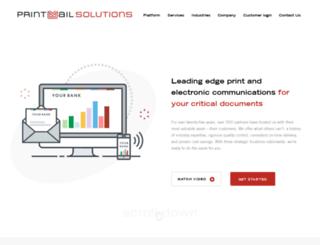 printmailsolutions.com screenshot
