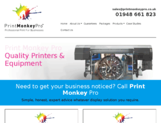 printmonkey.co.uk screenshot