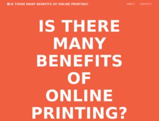 printordering.co.uk screenshot