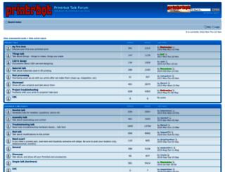 printrbottalk.com screenshot