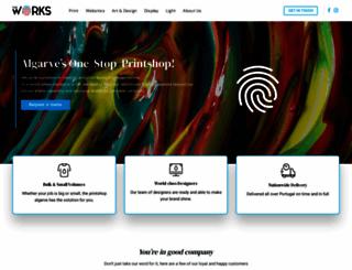 printshop-algarve.com screenshot