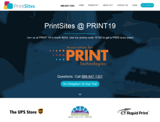 printsites.com screenshot