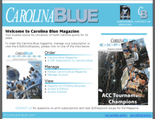 printsubscriber.carolinablue.com screenshot