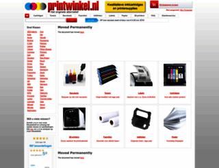 printwinkel.nl screenshot