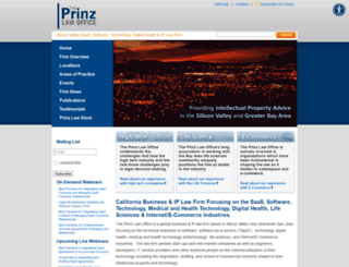 prinzlawoffice.com screenshot