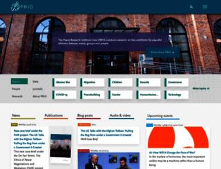 prio.org screenshot