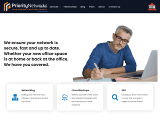 prioritynet.ca screenshot