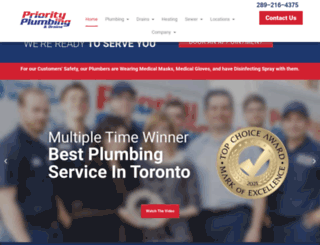 priorityplumbing.ca screenshot