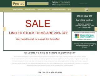 priorsrec.co.uk screenshot