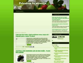 prirodom4dozdravlja.blogspot.com screenshot