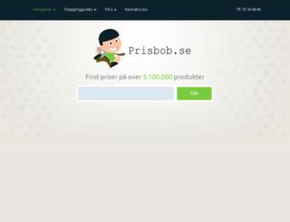 prisbob.se screenshot