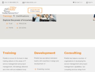 priskills.com screenshot
