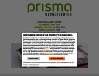 prisma-werbeagentur.de screenshot