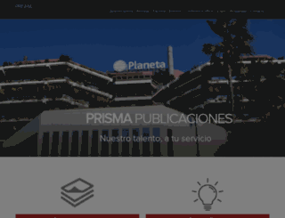 prismapublicaciones.com screenshot