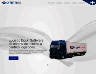 prismasoftwaregestion.com screenshot