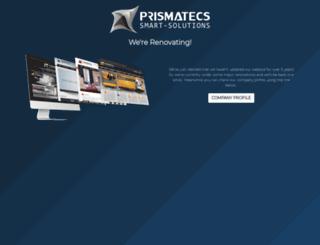 prismatecs.com screenshot